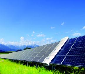 tak wyglądają panele słoneczne